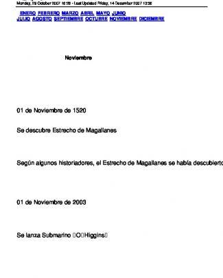 01 De Noviembre De 1520 Se Descubre Estrecho De Magallanes