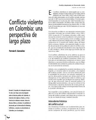 Alternativas A La Guerra: Iniciativas Y Procesos De Paz En Colombia