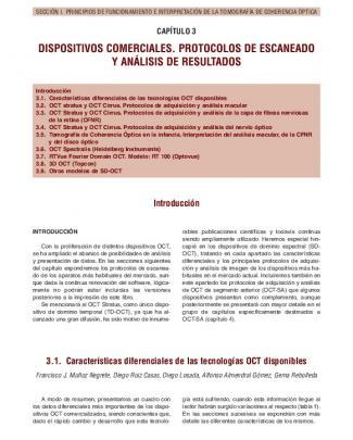 Dispositivos Comerciales. Protocolos De Escaneado