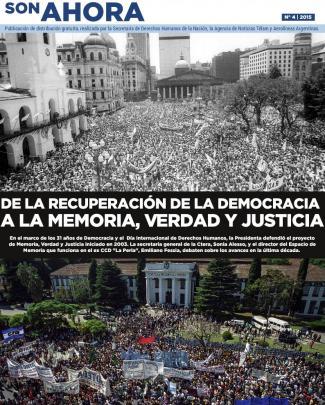 A La Memoria, Verdad Y Justicia - Ministerio De Justicia Y Derechos