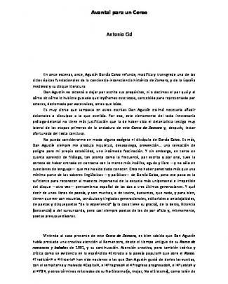 Avantal Para Un Cerco - Fundación Ramón Menéndez Pidal