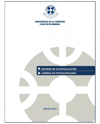 Informe De Autoevaluación Carrera De Fonoaudiología