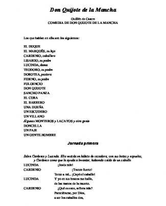 Castro Guillen – Don Quijote De La Mancha