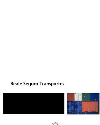 Reale Seguro Transportes - Transportes Y Logística, Ansoyko