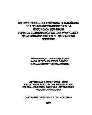 Diagnostico De La Practica Pedagogica.doc