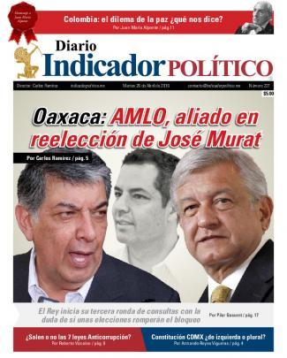 Amlo, Aliado En Reelección De José Murat