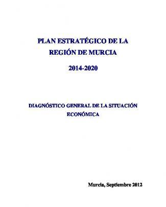 Plan Estratégico De La Región De Murcia 2014-2020