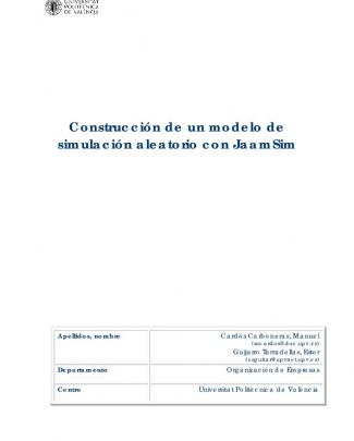 Portada Del Documento - Riunet Repositorio Upv