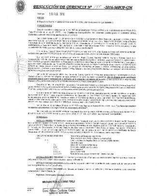 I $ Frb, Tü1ü - Municipalidad Provincial De Coronel Portillo
