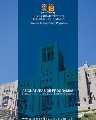 Asignaturas De Programas Postgrado Científico