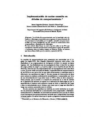 Implementación De Nodos Consulta En árboles De - Ceur