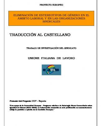 Uil-italia (castellano) - Unión General De Trabajadores