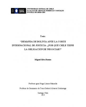 Tesis Actos Unilaterales (bolivia).
