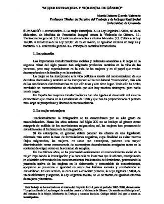 Mujer Extranjera-revista - Comité Económico Y Social De La