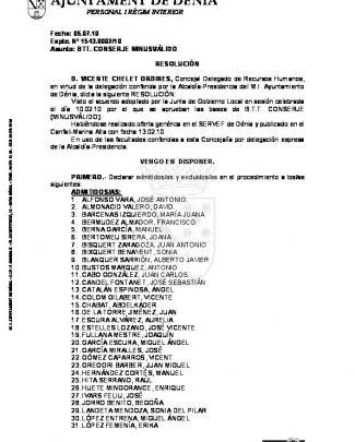 Ajuntament De Dénia