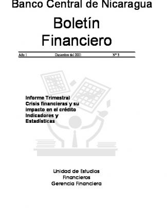 Diciembre 2001 - Banco Central De Nicaragua