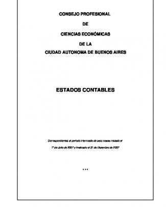 Finalizado El 31/12/2007 - Consejo Profesional De Ciencias