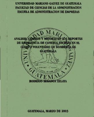 Page 1 Universidad Mariano Galvez De Guatemala