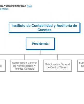 Instituto De Contabilidad Y Auditoría De Cuentas (icac)