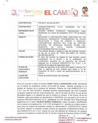 Contrato 078 2016 - Emsercota.gov.co