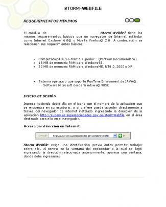 Manual Storm Webfile