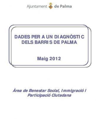 Dades Per A Un Diagnòstic Dels Barris De Palma Maig