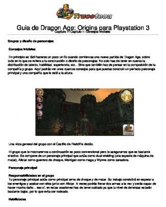 Guia De Dragon Age: Origins Para Playstation 3