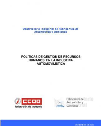 Politicas De Gestión De Recursos Humanos En La Industria