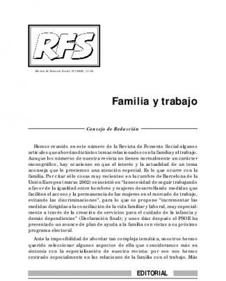 - Revista De Fomento Social