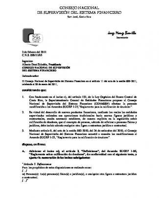 C.n.s. 899/11/05 - Consejo Nacional De Supervisión Del Sistema
