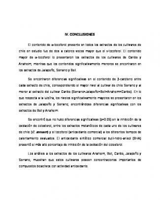 Iv. Conclusiones El Contenido De α