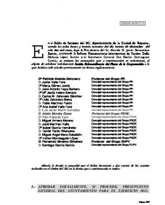 Acta Completa - Ayuntamiento De Requena