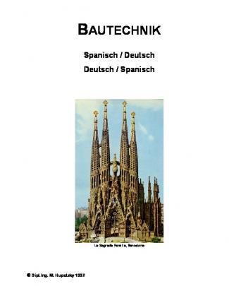 Bautechnik Spanisch Deutsch
