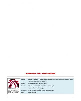 Documento Final - Tomo 2. Pliegos De Condiciones