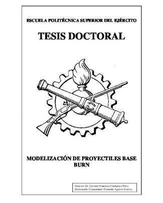Tesis Doctoral Modelización Proyectiles Base Burn Fernando Aguirre Estevez