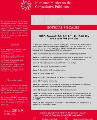 Shcp / Anexos 3, 4, 5, 6, 7, 8, 11, 14, 17, 23, 25 Y 25-bis De