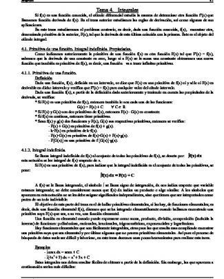 Tema 4. Integrales