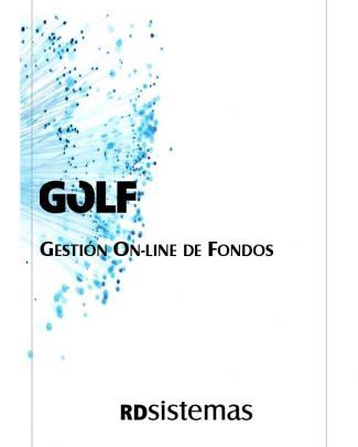 Golf. Gestión On-line De Fondos