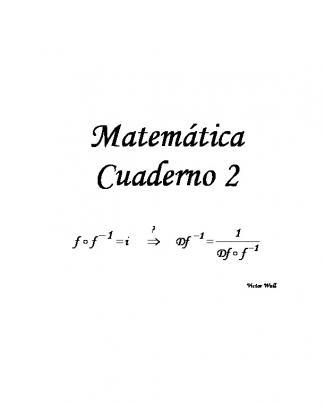 Matemática Cuaderno 2