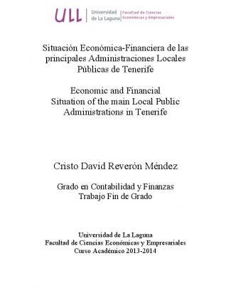 Situacion Economica-financiera De Las