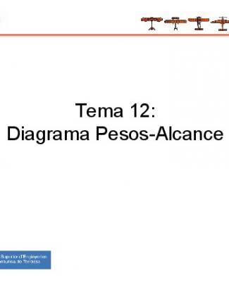 Tema 12: Diagrama Pesos