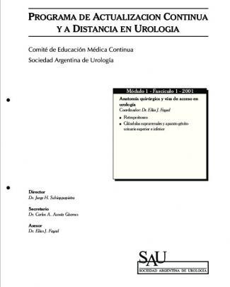 Anatomia Quirurgica Y Vias De Acceso En Urologia.