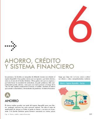 Ahorro, Crédito Y Sistema Financiero